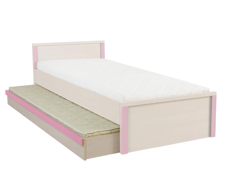 Dolní postel s matrací - BRW - Caps - LOZ/85D